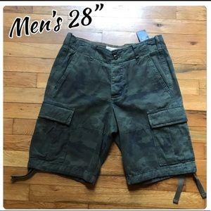 "Men's 28"" A&F cargo shorts NWT"
